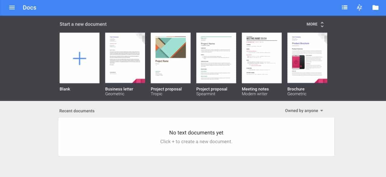 Create view on @googledocs #ui #inspiration #interface #web #design Create Web  - UI Garage - The database of UI
