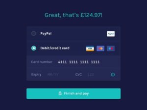 Great Checkout by @idiot #ui #inspiration #interface #web #design from UIGarage