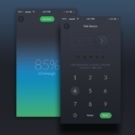 App design for Spend Wallet with Tutorial