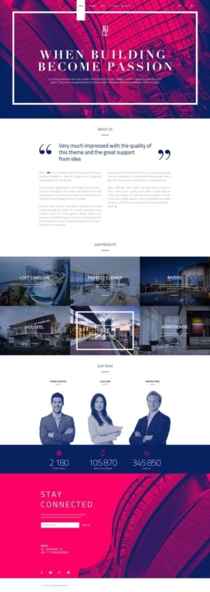Mice / Landing page - #corporate from UIGarage