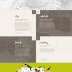 Great landing page for Food   Art Director: Ewelina Gąska Fr...