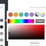 Color Picker on @tumblr #ui #inspiration #interface #web #de...