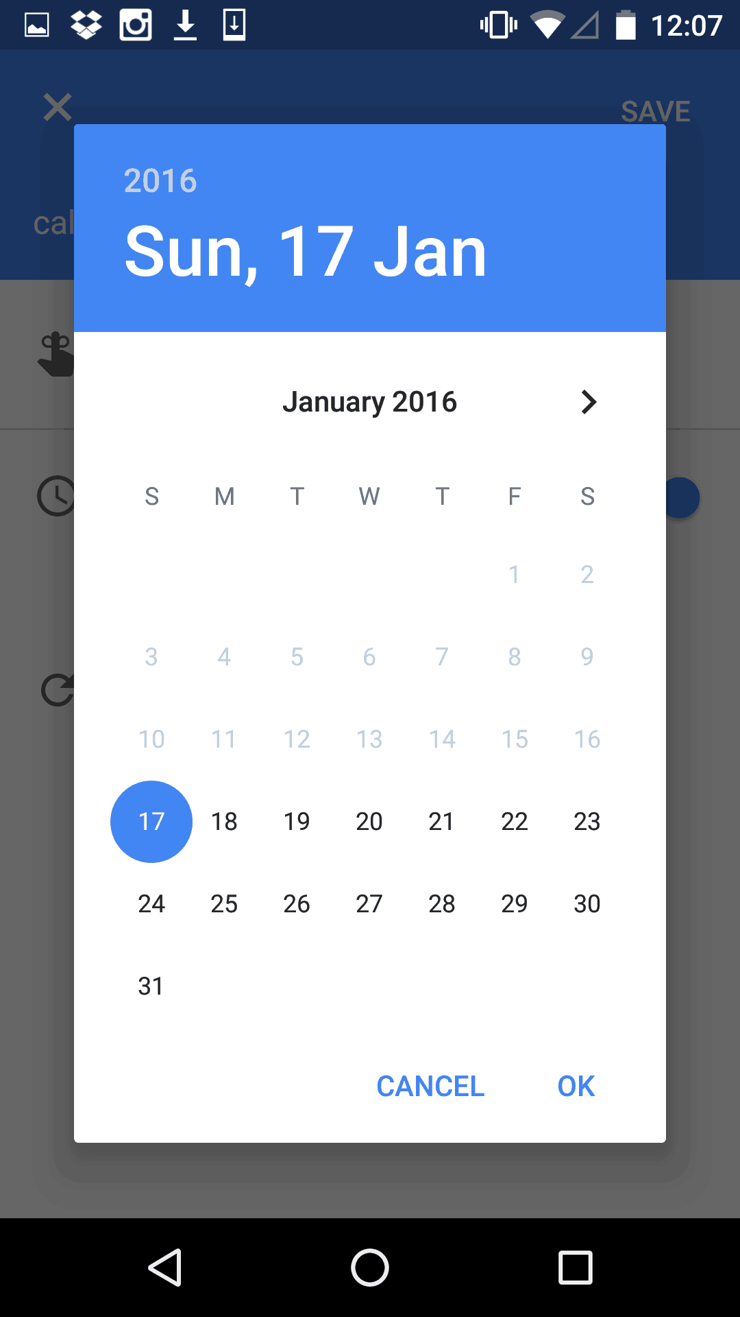 Weekly Calendar Ui : Date picker by google calendar ui inspiration interface