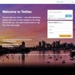 Twitter's successful user on boarding process.