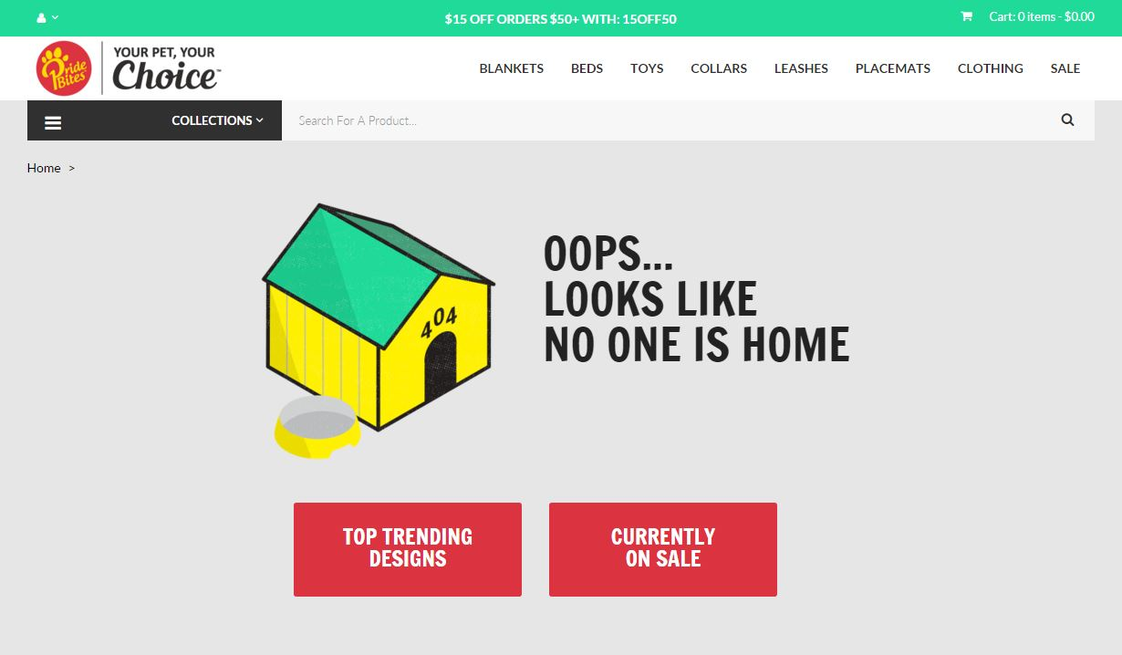 404 page @pridebites by Dvir Nahmany #ui #inspiration #interface #web #design #404 Web  - UI Garage - The database of UI
