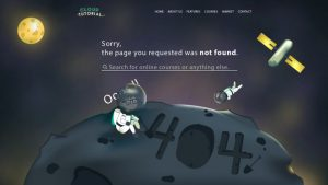 404 pages can be an unpleasant experience. You can always take a fun and creative approach to it! from UIGarage