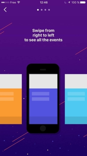 Onboarding by @wingit_app #ui #inspiration #interface #ios #design from UIGarage