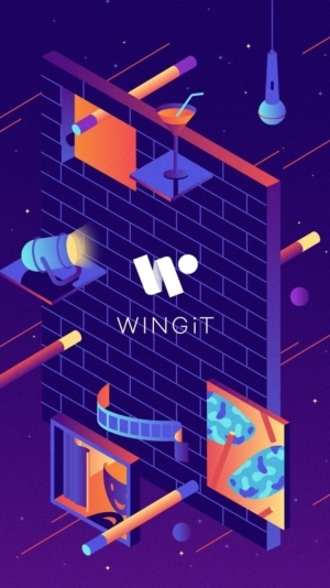 Launch Screen by @wingit_app #ui #inspiration #interface #ios #design from UIGarage