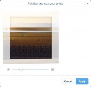 Resize tool by @twitter web #ui #inspiration #interface #web #design from UIGarage
