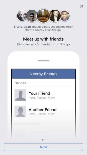 Walkthrough by @facebook #ui #inspiration #interface #ios #design from UIGarage