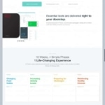 Awesome landing page by @prevent web #ui #inspiration #inter...
