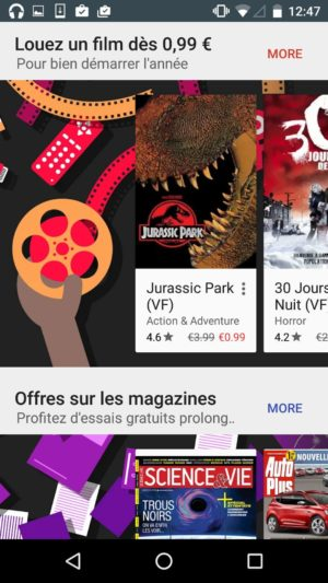 Awesome display of apps and books on @google play #ui #inspiration #interface #materialdesign #design #android from UIGarage