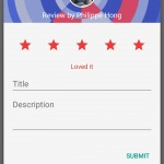 Rating an app on @google play #ui #inspiration #interface #m...