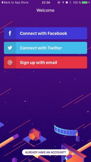 Signup by @wingit #ui #inspiration #interface #ios #design #iphone from UIGarage