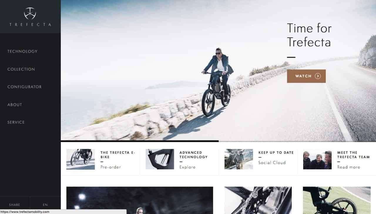 Side navigation design inspiration by Trefecta. #web #navigation #trefecta Navigation Web  - UI Garage - The database of UI