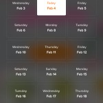 Date picker by @bloomthat #ui #inspiration #interface #ios #...
