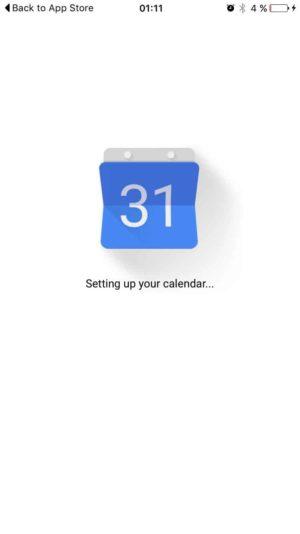 Loading your calendar GoogleCalendar #ui #inspiration #interface #ios #design #iphone from UIGarage