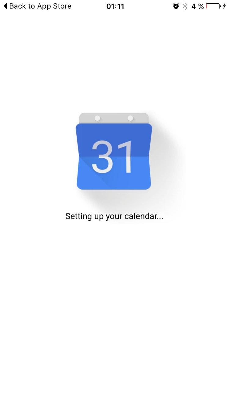 Loading your calendar GoogleCalendar #ui #inspiration #interface #ios #design #iphone iOS Loading  - UI Garage - The database of UI
