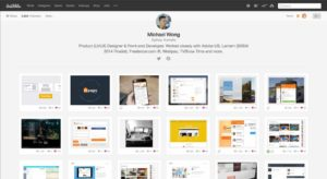 @Dribbble Profile Page #web #profile from UIGarage