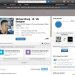 @Linkedin profile page which has been highly optimised for e...