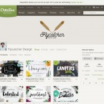 @CreativeMarket profile pages. Lovely design. #web #profile