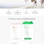 Spotify Pricing page #ui #inspiration #interface #web #desig...