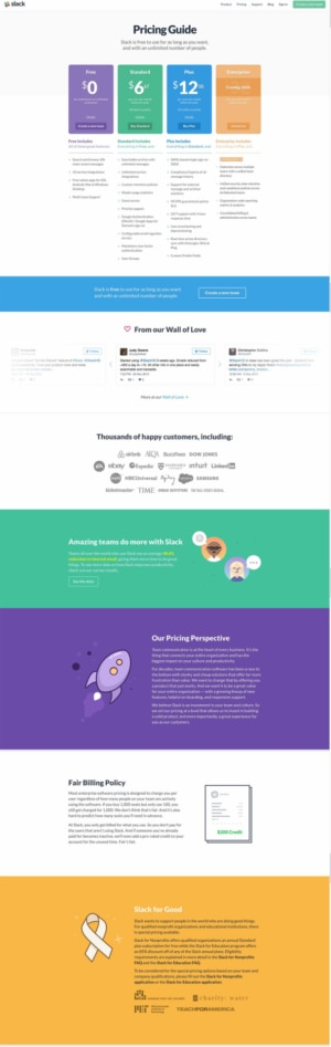 Pricing by Invision #ui #inspiration #interface #web #design from UIGarage