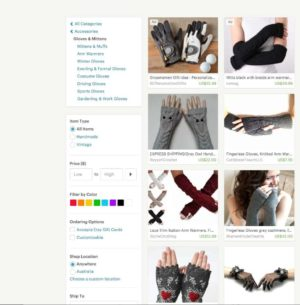 Product filters by @Etsy #web #filters from UIGarage