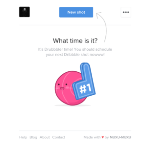 Empty state by drubbbler web #ui #inspiration #interface #web #design from UIGarage