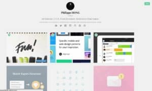 Selection on Dribbble web #ui #inspiration #interface #web #design from UIGarage