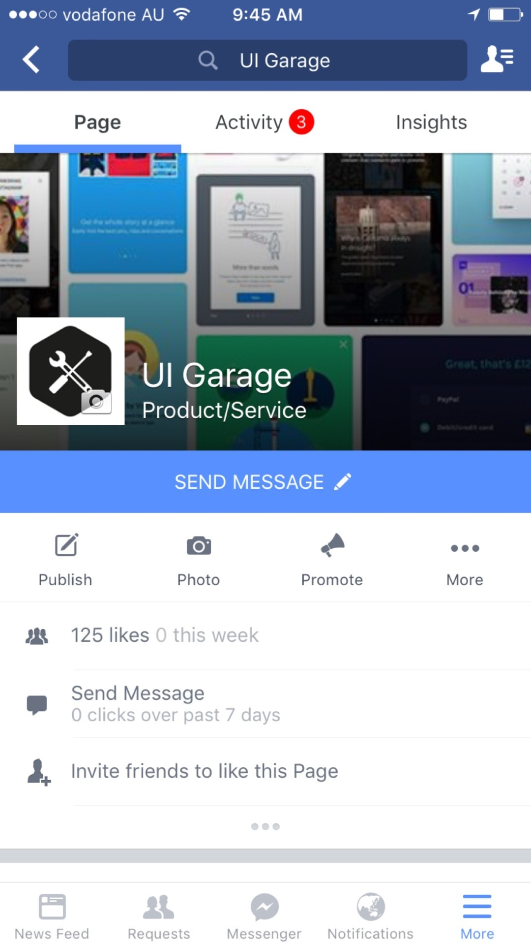 Facebook #iOS app #tab bar All iOS Tab bar  - UI Garage - The database of UI