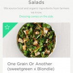 Homepage on sweetgreen #ui #inspiration #interface #ios #des...