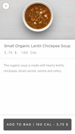 Content on sweetgreen #ui #inspiration #interface #ios #design #iphone from UIGarage