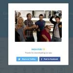 Congrats page on web web #ui #inspiration #interface #web #d...