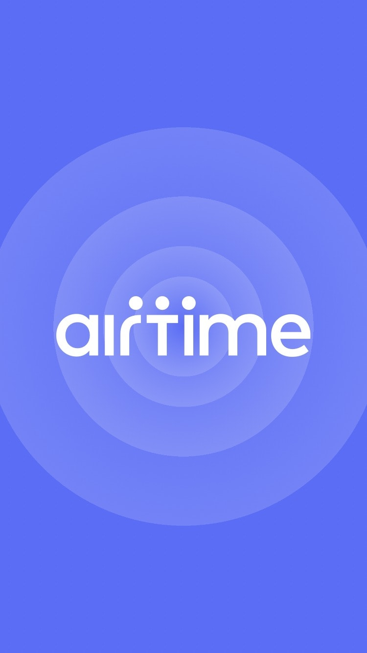 Launch Screen on Airtime #ui #inspiration #interface #ios #design #iphone