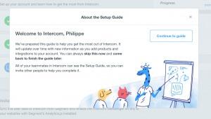 Tutorial Guide intercom web #ui #inspiration #interface #web #design 13