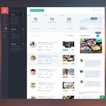 Activity page on dashboard by @yarnell web #ui #inspiration ...