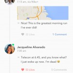Activity on timeline screen #ui #inspiration #interface #ios...