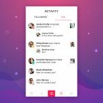 Beautiful activity screen #ui #inspiration #interface #ios #...