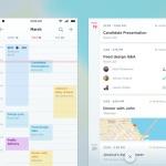 Calendar view by @yaolui #ui #inspiration #interface #ios #d...