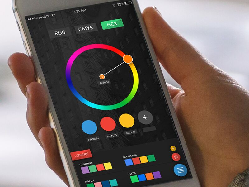 Colorpicker by @SeptiandikaPratama #ui #inspiration #interface #ios #design #iphone