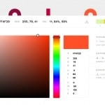 Powerful color picker web #ui #inspiration #interface #web #...