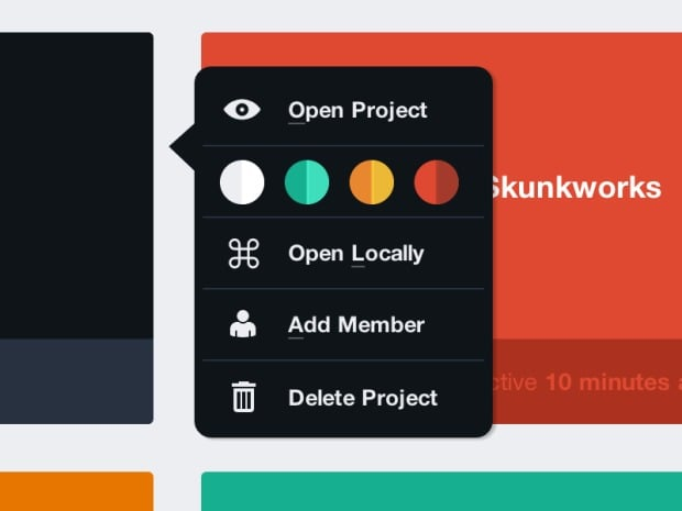 Color picker for theme web #ui #inspiration #interface #web #design