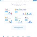 Pricing page on Intercom web #ui #inspiration #interface #we...