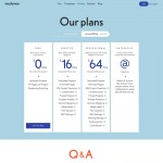 Pricing page on ReadyMag web #ui #inspiration #interface #we...