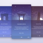 Walkthrough by anton_chandra #ui #inspiration #interface #io...