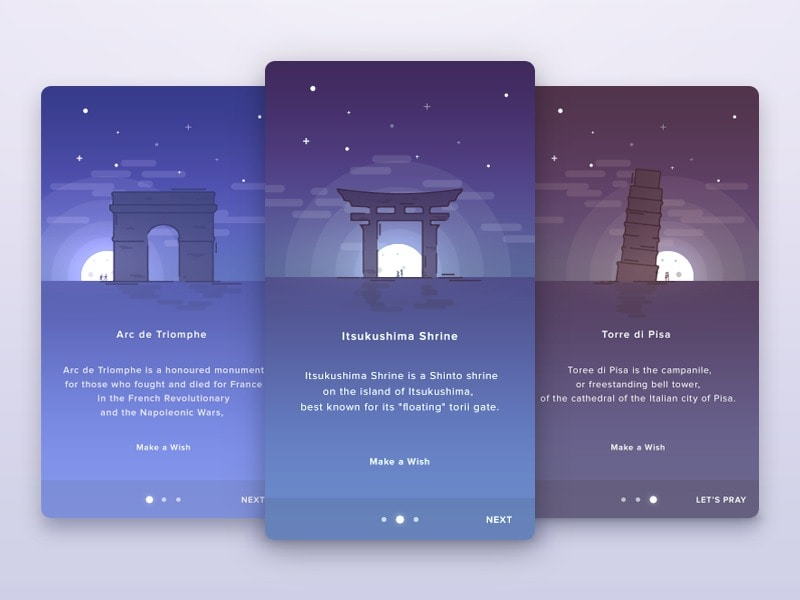 Walkthrough by anton_chandra #ui #inspiration #interface #ios #design #iphone