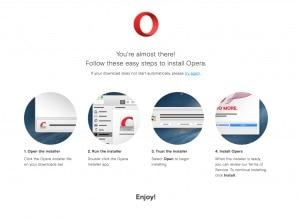 Opera Mac Walkthrough web #ui #inspiration #interface #web #design from UIGarage