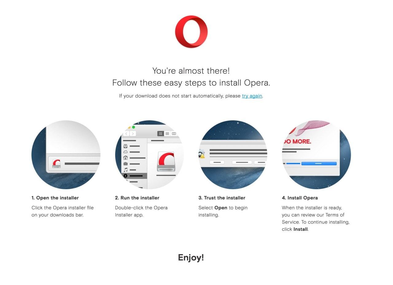 Opera Mac Walkthrough web #ui #inspiration #interface #web #design