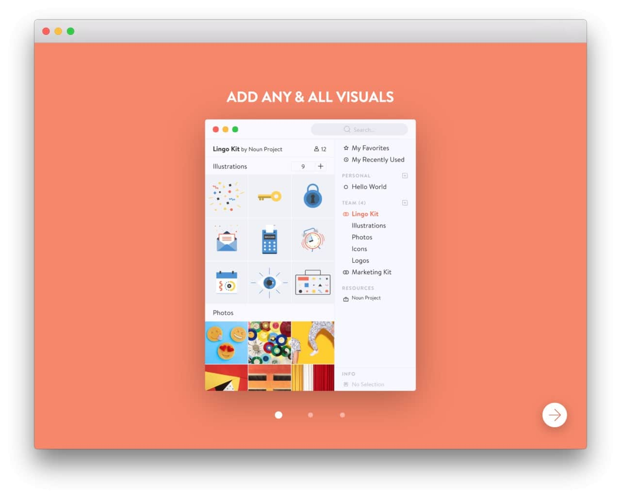 Lingo walkthrough on Mac #ui #inspiration #interface #mac #design
